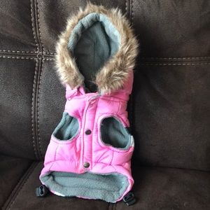 Accessories - 💕Dogs coat.Pink grey and white.